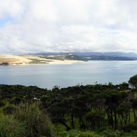 bay, dunes, coastal landscape, Sony ILCE-7