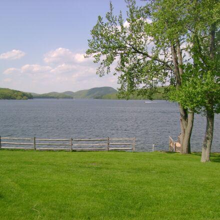 lake, summer, landscape, Sony DSC-S500