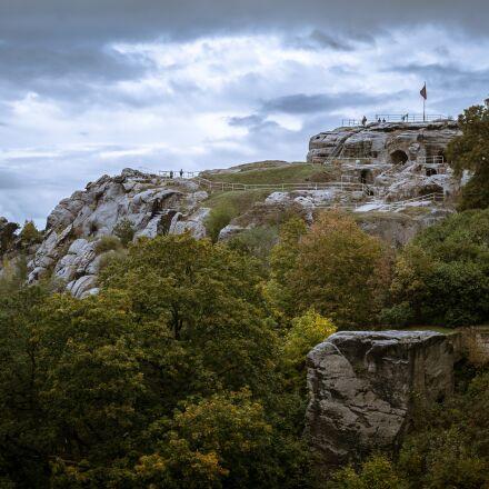 castle, ruin, fortress, Samsung NX300M