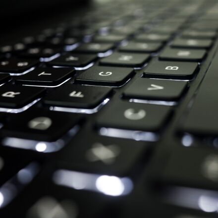 keyboard, computer, technology, Canon EOS REBEL T6S