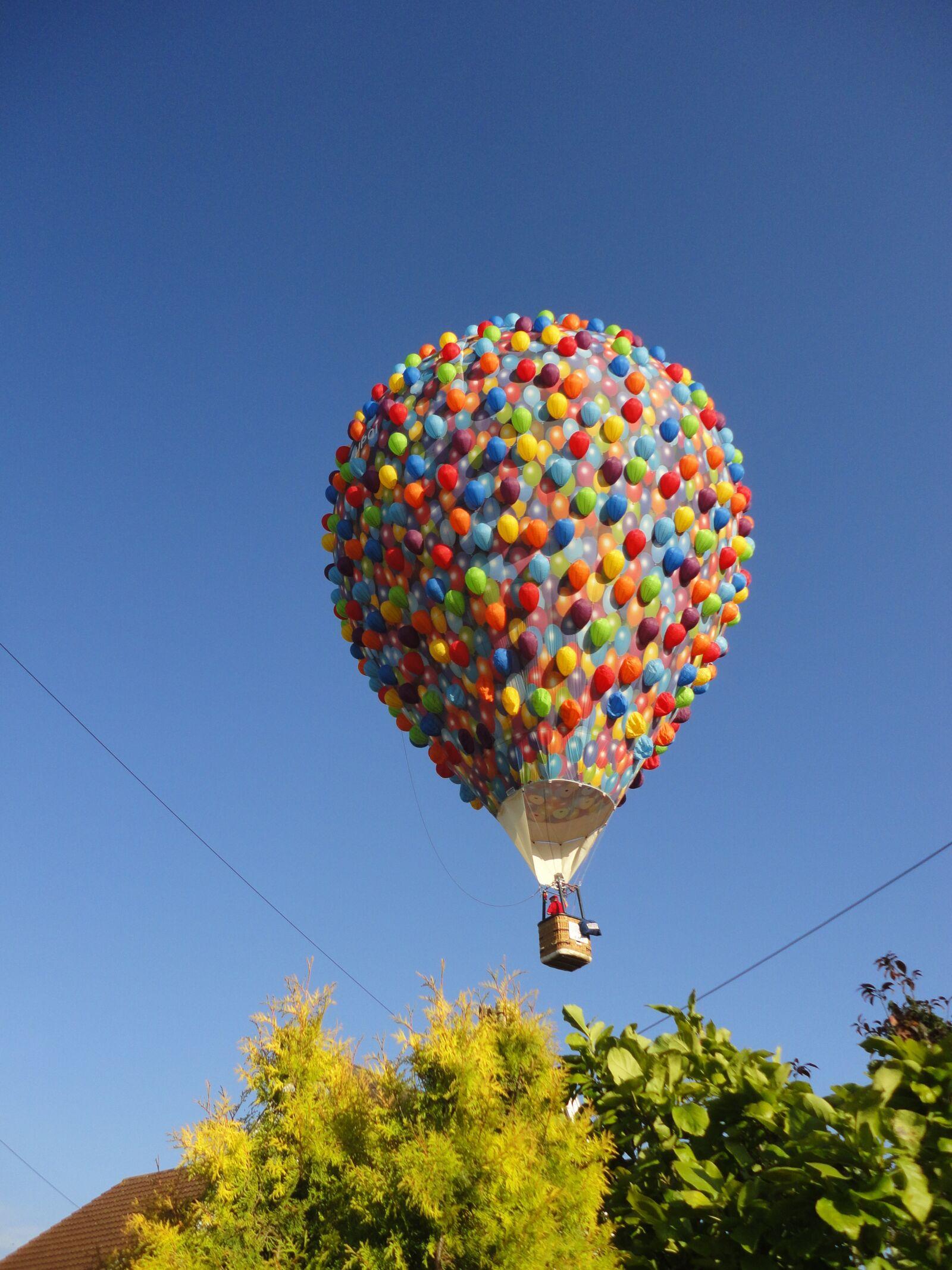 "Sony DSC-W350 sample photo. ""Hot, air, balloon"" photography"