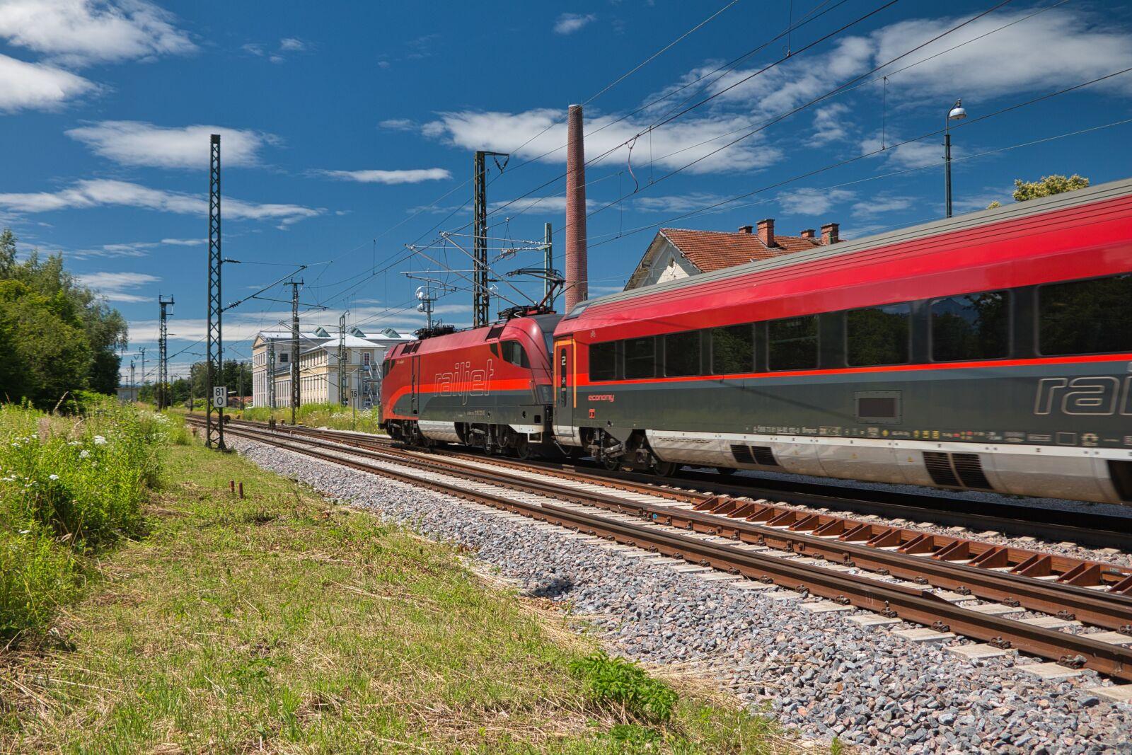 "Canon EOS 70D sample photo. ""Railway, remote traffic, rail"" photography"