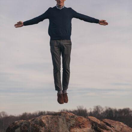 jump, levitate, man, Canon EOS 5D MARK II