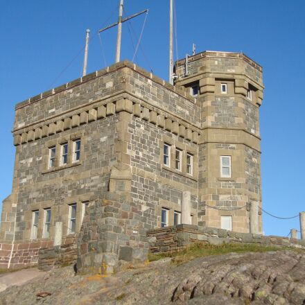 cabot tower, signal hill, Sony DSC-W120