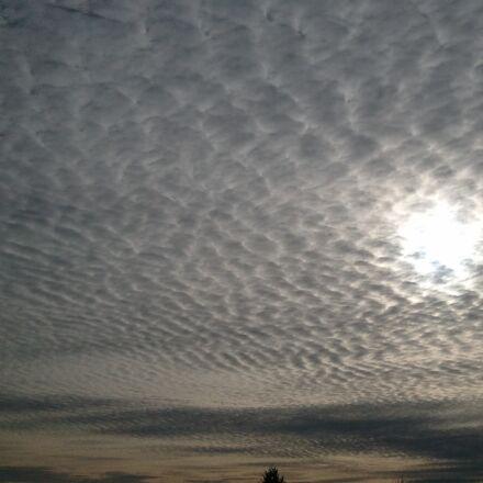 clouds, cloudy, sky, Samsung SGH-I897