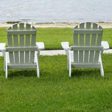 adirondack chairs, lake, relaxing, Panasonic DMC-FZ60