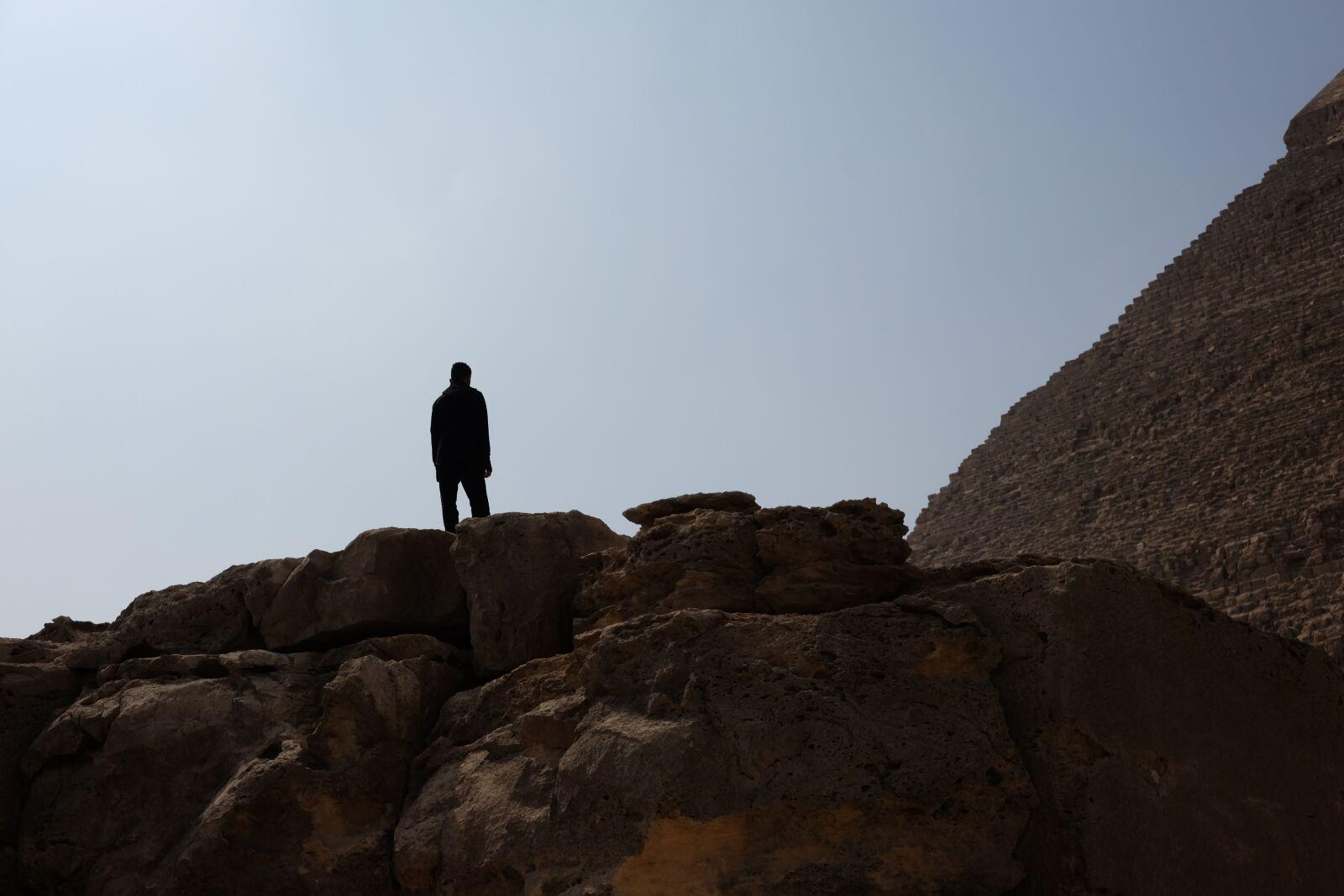 "Fujifilm X-T1 sample photo. ""Rock, pyramids, cairo"" photography"