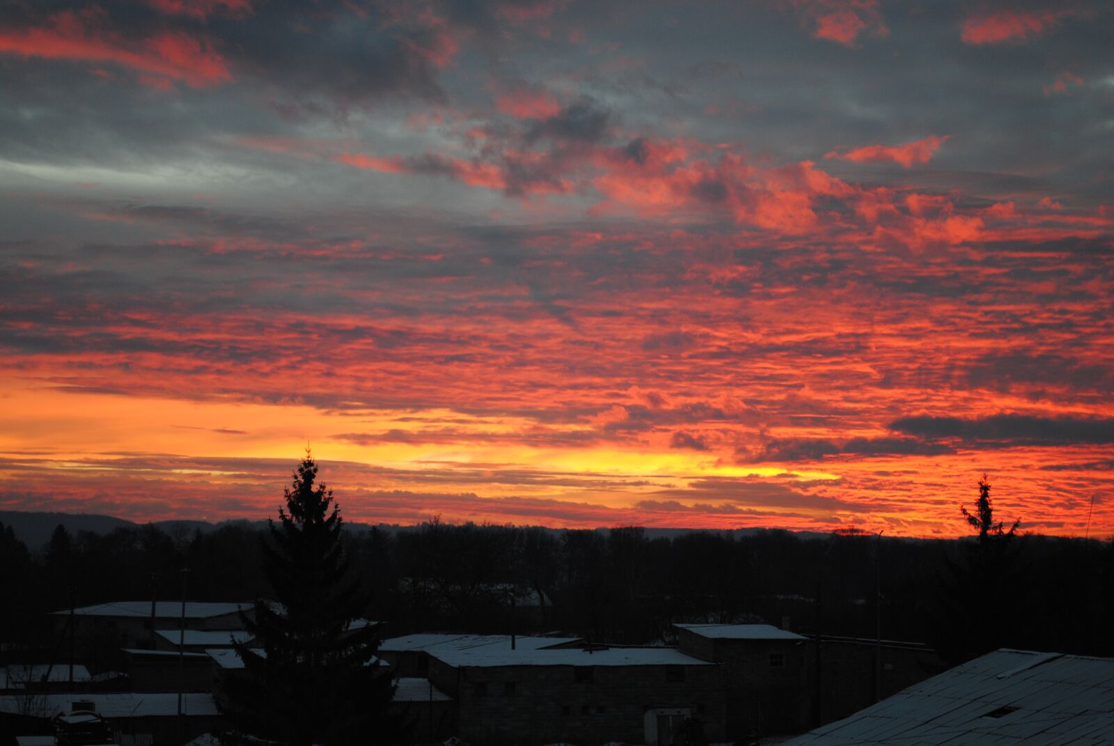 "Nikon D3000 sample photo. ""Morning, sky, dawn"" photography"