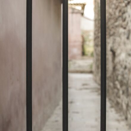 bars, architecture, wrought iron, Canon EOS 1100D