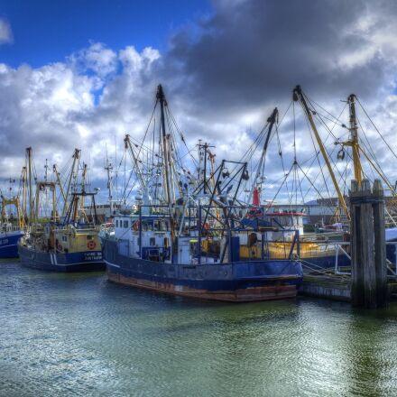 lauwersoog, port, fisheries, Fujifilm X100S
