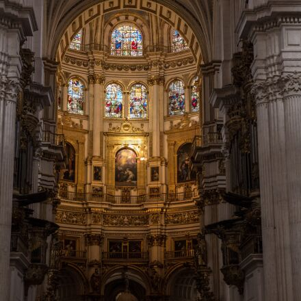 granada, altar, church, Panasonic DMC-GH3
