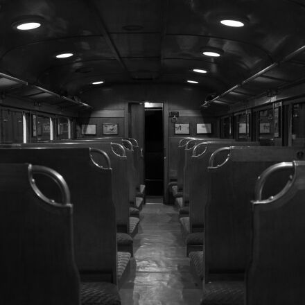 grayscale, photography, of, train, Canon EOS 70D