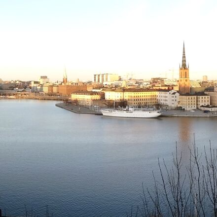 panorama, stockholm, water, Sony DSC-WX300