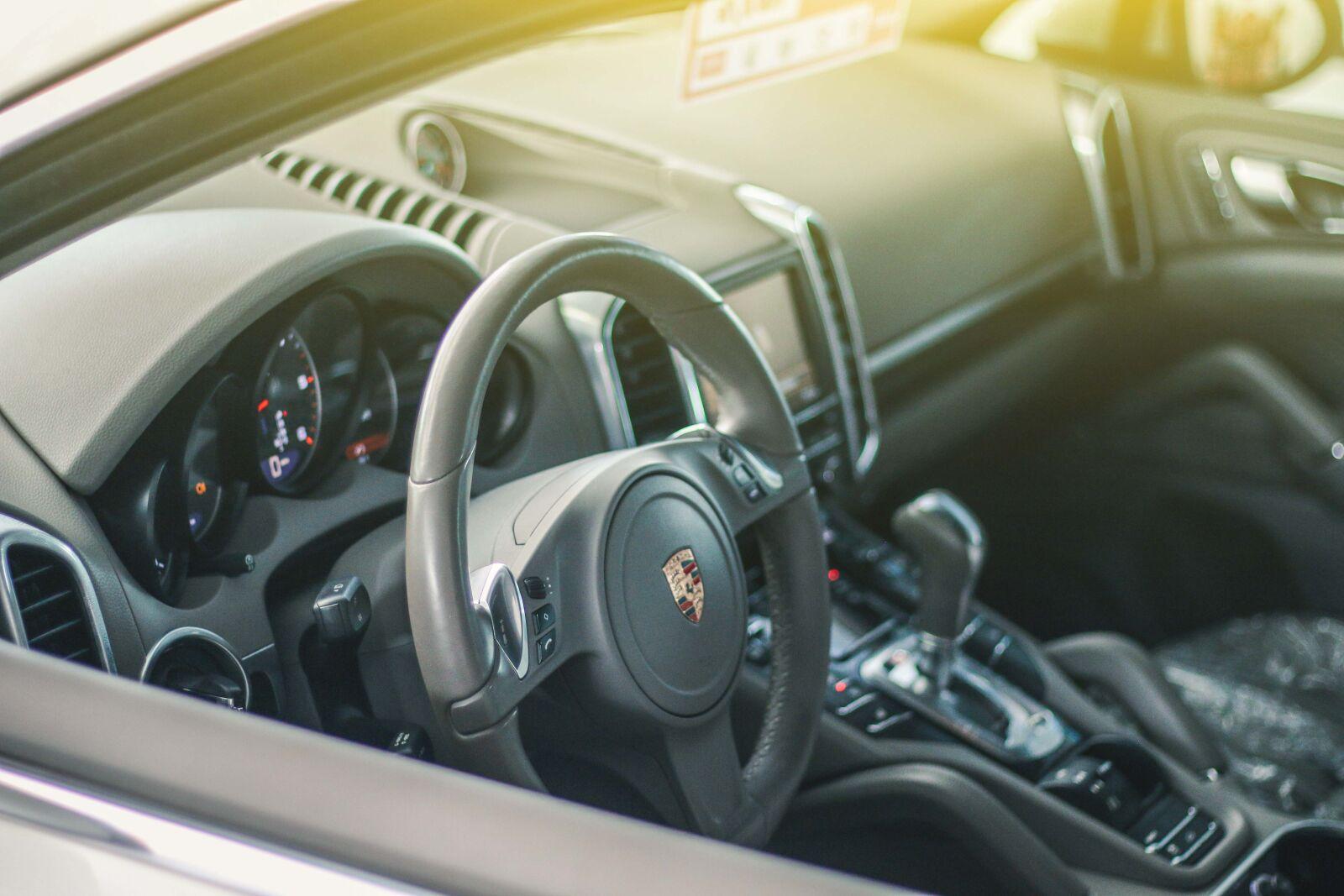 """Canon EOS 70D sample photo. """"Porsche cayenne, car, automotive"""" photography"""