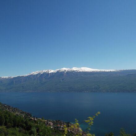 mountain, snow, sun, Fujifilm FinePix AX250