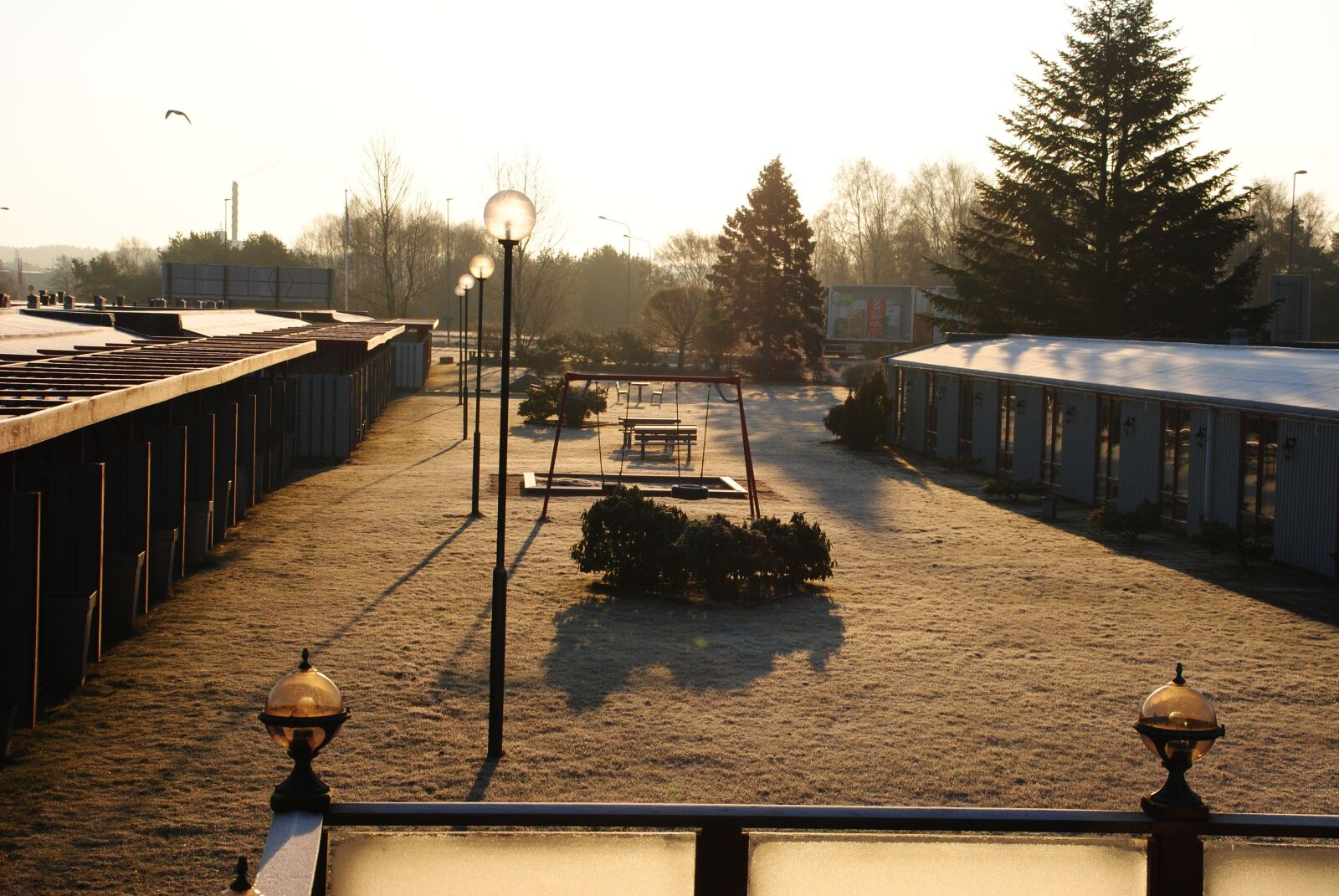 """Nikon D3000 sample photo. """"Hotels, frost, bright"""" photography"""