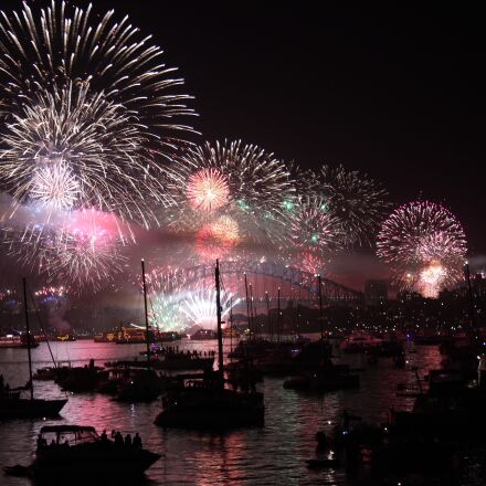 sydney, new year's eve, Canon EOS 600D