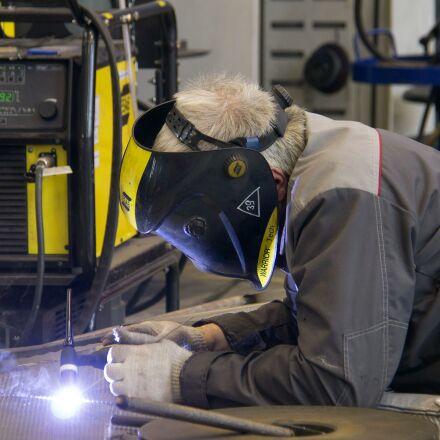 welder, work, plant, Canon EOS 1100D