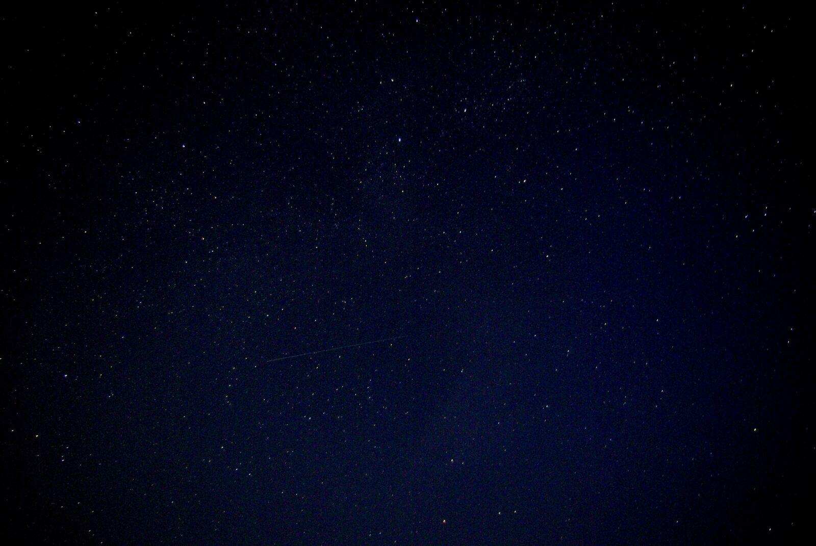 "Pentax K10D sample photo. ""Starry night, night, sky"" photography"