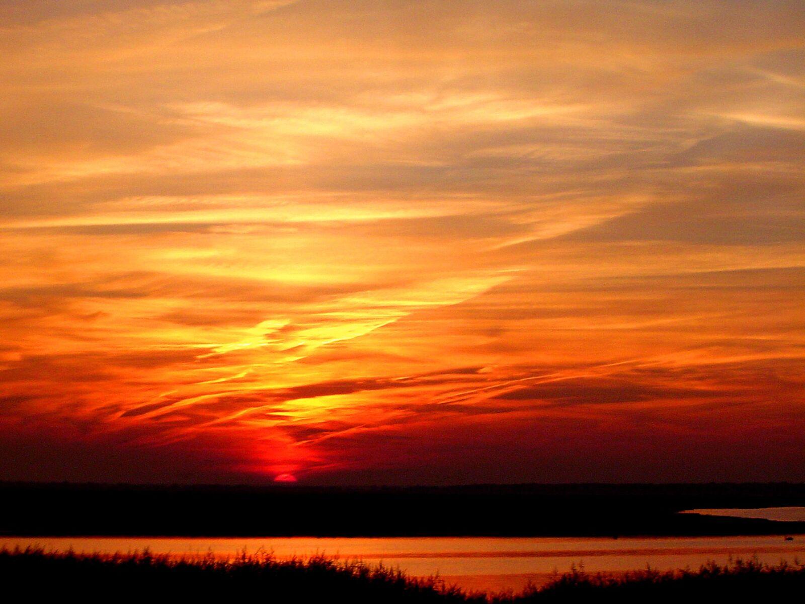 "Sony DSC-P72 sample photo. ""Sunset, menorca, abendstimmung"" photography"