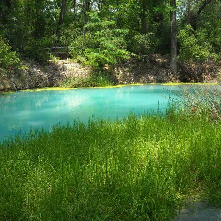 river, forest, park, Nikon COOLPIX L18