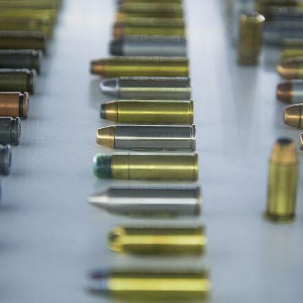 bullet, gold, gun, Nikon D600