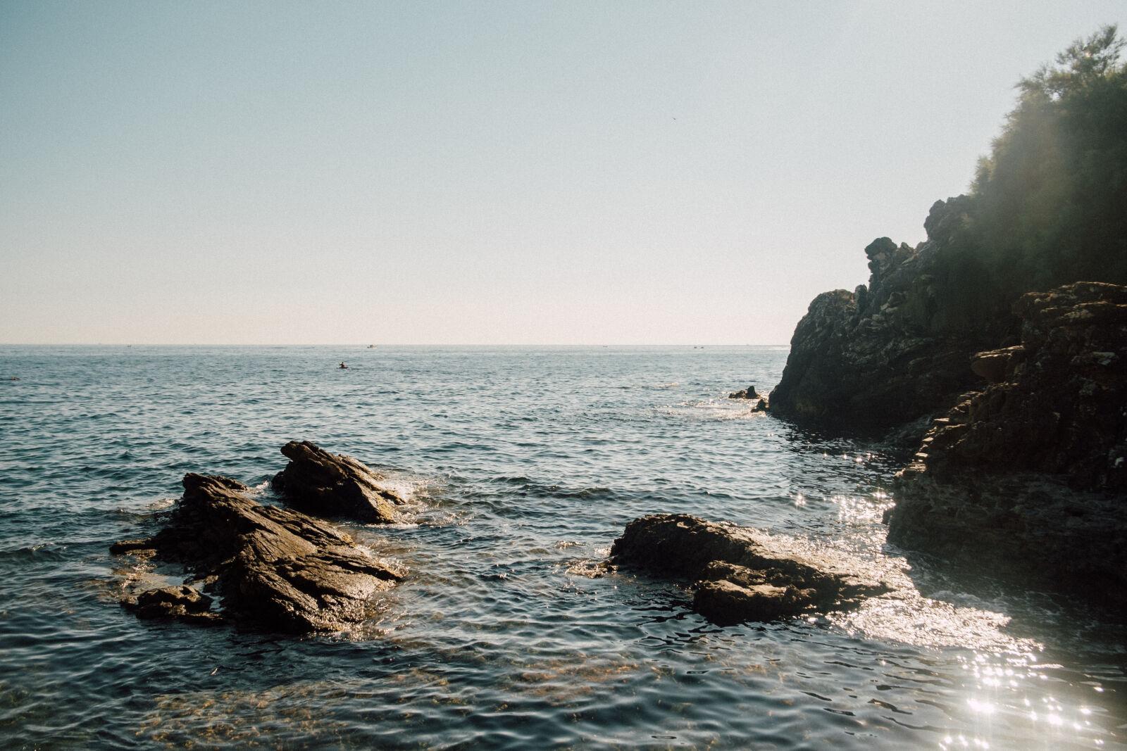 "Fujifilm X-E1 sample photo. ""Genova, italia, mare, sea"" photography"