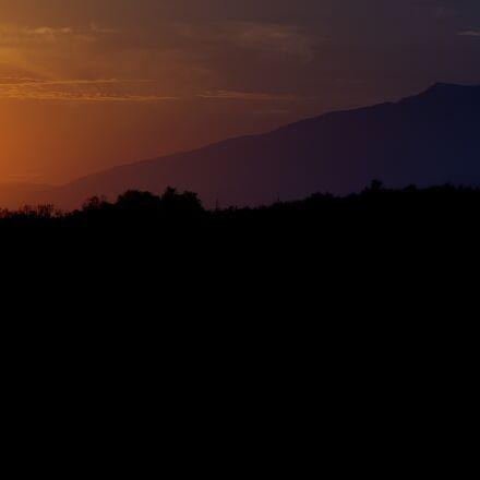 sunset, twilight, abendstimmung, Sony ILCE-6000