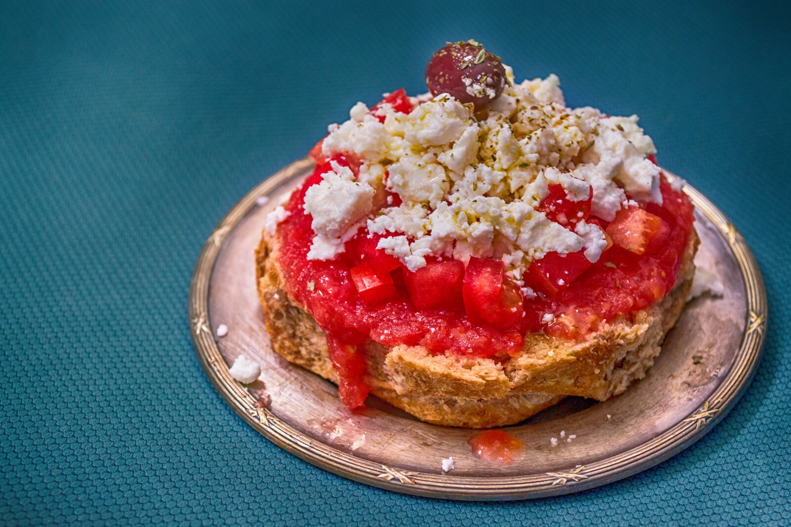 """Nikon D3100 sample photo. """"Pastry, on, silver, saucer"""" photography"""