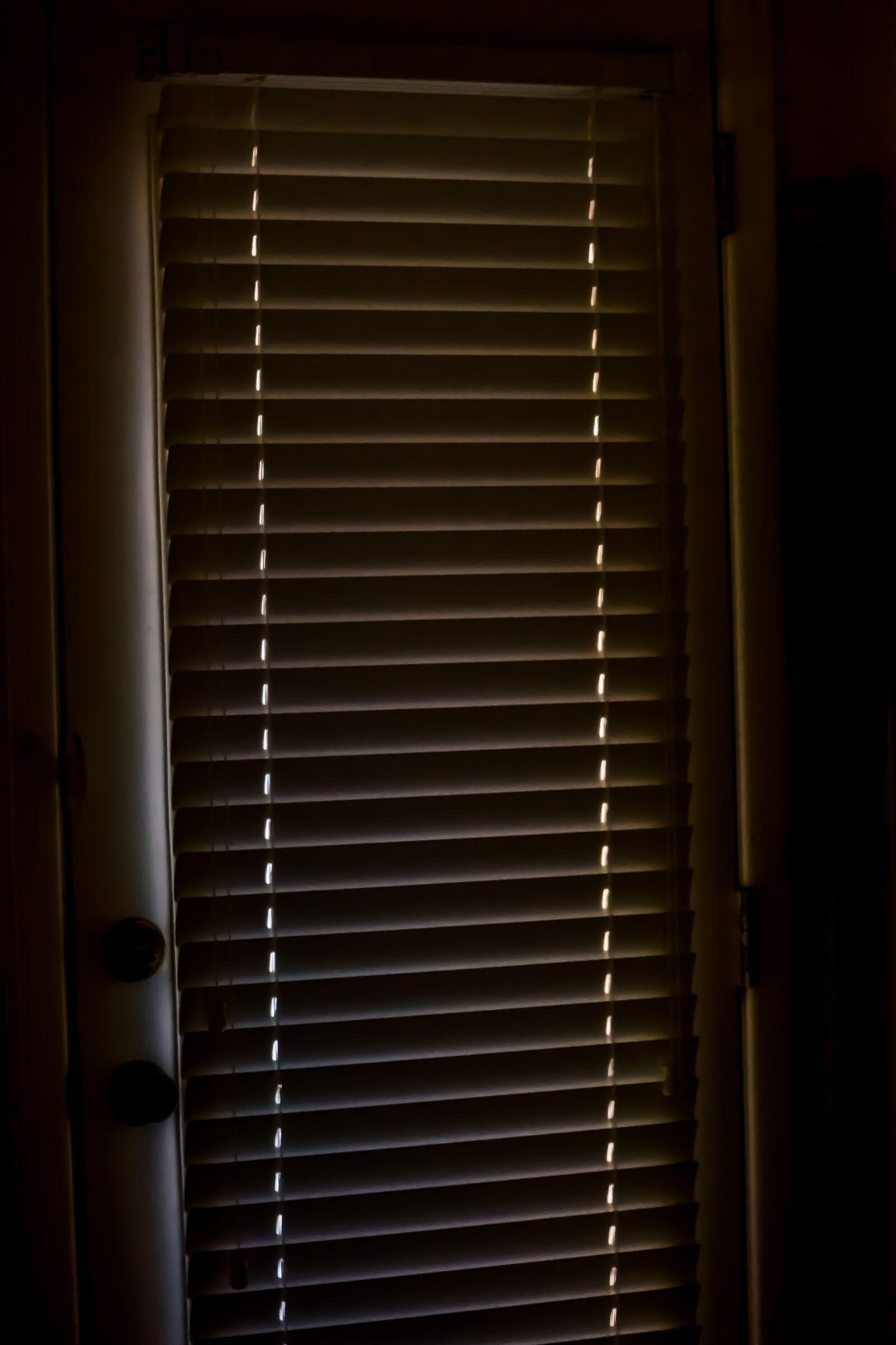 "Sony Alpha NEX-7 sample photo. ""Venetian blinds, dark, glamour"" photography"