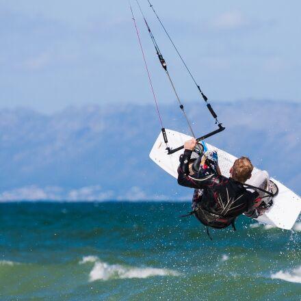 kite boarder, kite boarding, Canon EOS-1D MARK II N