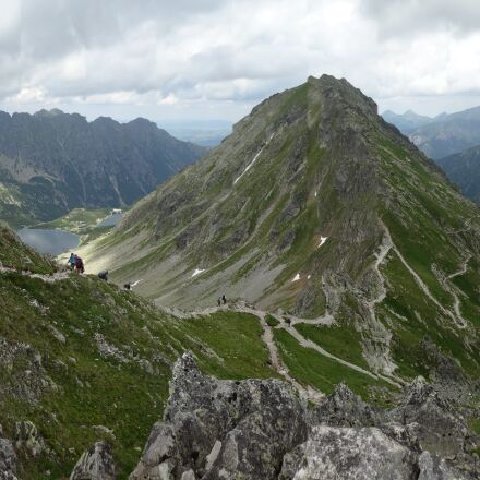 mountains, tatry, the high, Sony DSC-WX300