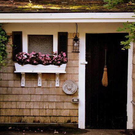 country, door, flowers, Canon EOS REBEL T4I