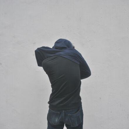 back, jacket, simple, white, Nikon D3000
