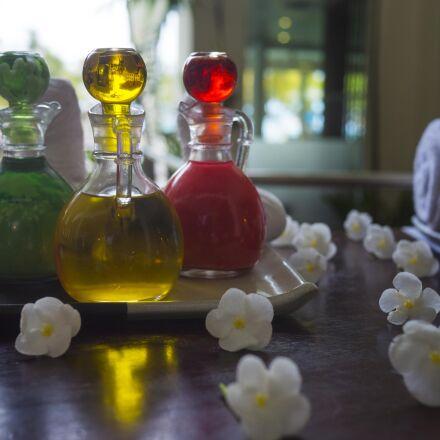 essential oil, spa, treatment, Panasonic DMC-GH3