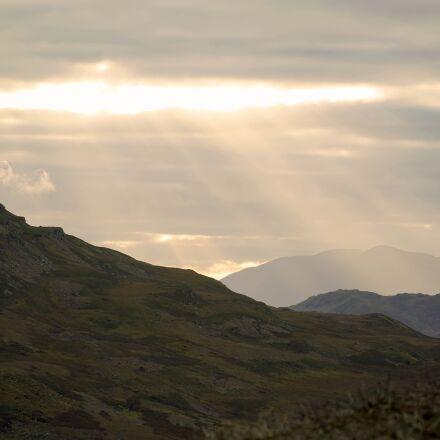 dusk, mountain, sunset, Sony ILCE-7RM2