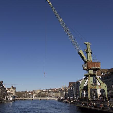 art, blue, sky, bridge, Canon EOS 1100D