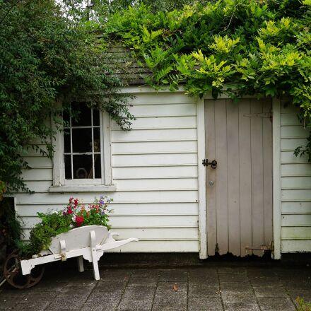 hut, green, log cabin, Sony ILCE-7