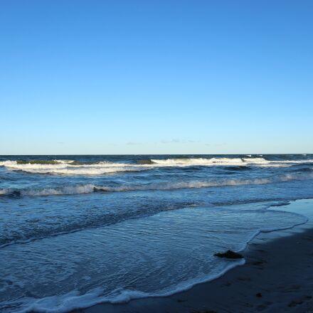 water, sea, baltic sea, Canon EOS M10