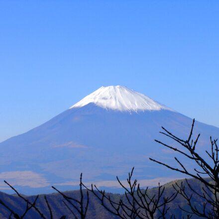 fuji, mountain, japan, Sony DSC-P73