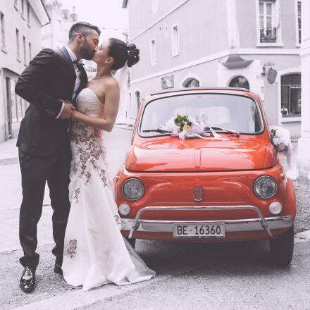 wedding, pair, wedding dress, Canon EOS 6D
