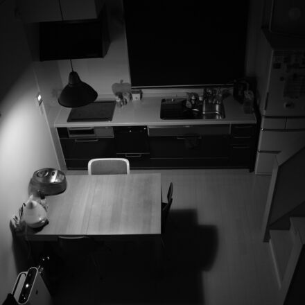 kitchen, night, theme, look, Canon EOS KISS DIGITAL X