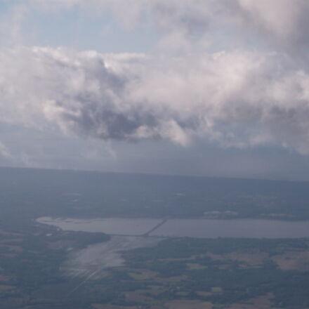 biarritz, clouds, dark, clouds, Fujifilm FinePix AX550