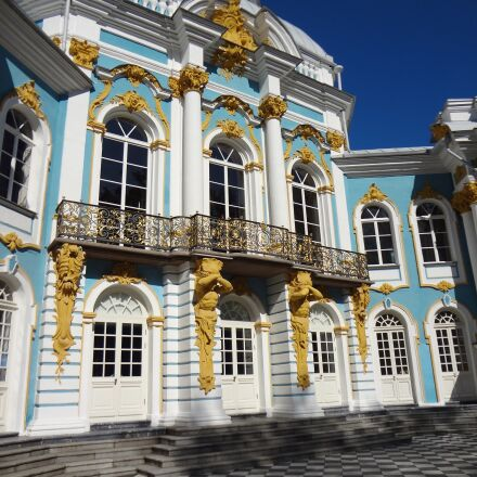 russia, palace, architecture, Sony DSC-WX9