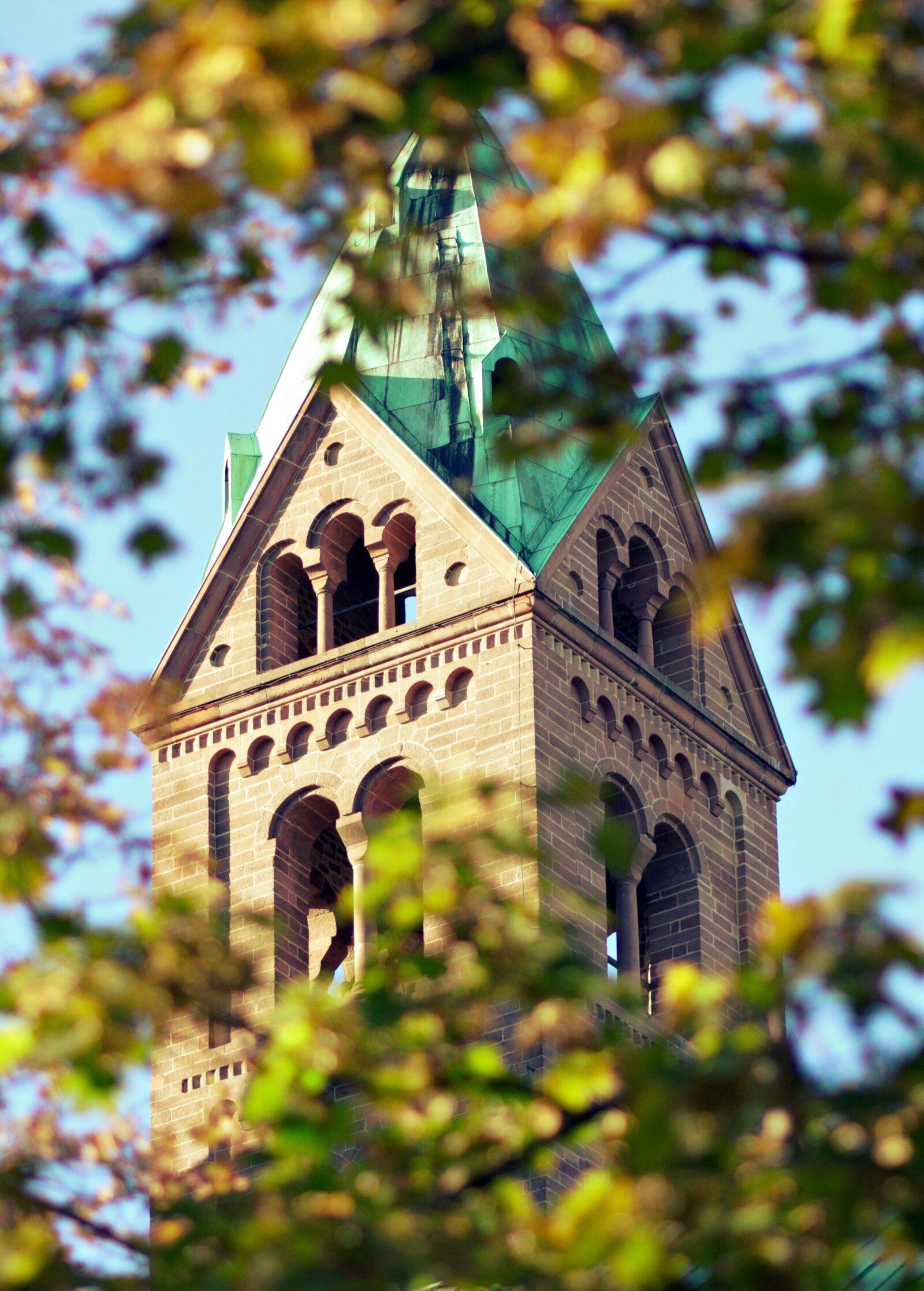 "Sony a6400 sample photo. ""Speyer, church, tower"" photography"