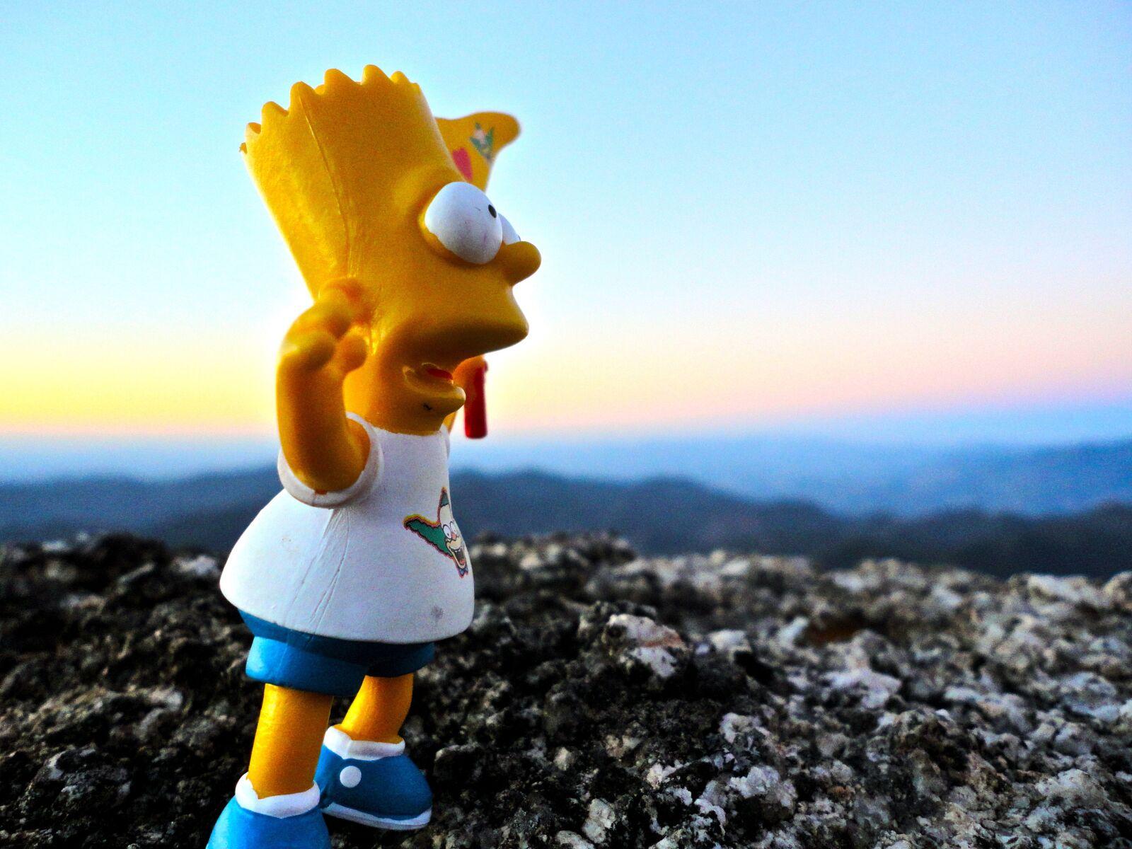"Sony DSC-W350 sample photo. ""Mountain, toy, creative"" photography"