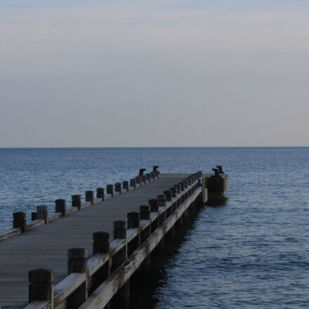 sea, sky, cloud, Canon EOS 700D