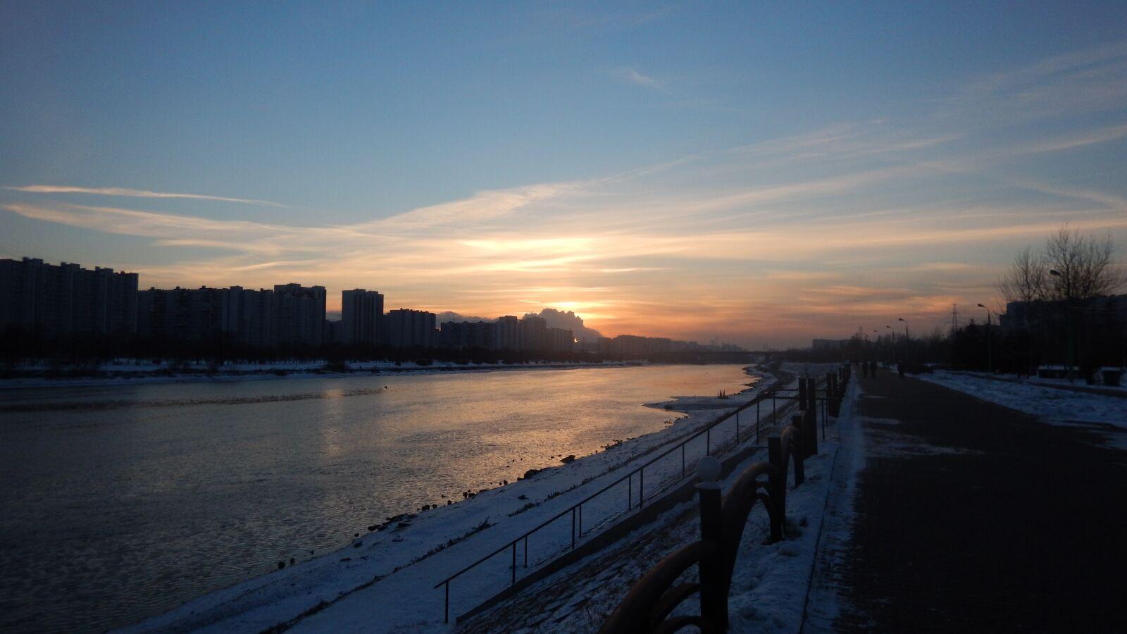 """Nikon Coolpix AW120 sample photo. """"Sunset, winter, sun"""" photography"""