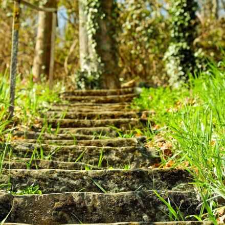 stairs, stone steps, clumping, Fujifilm X-T10