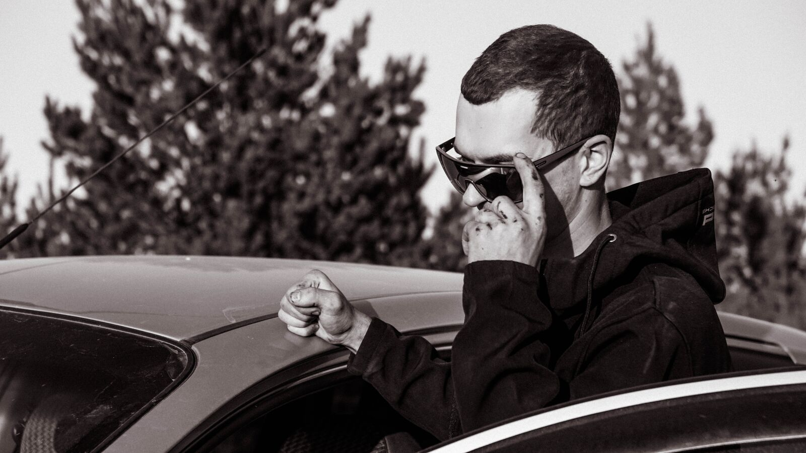 "Sony a6000 sample photo. ""Man, glasses, model"" photography"